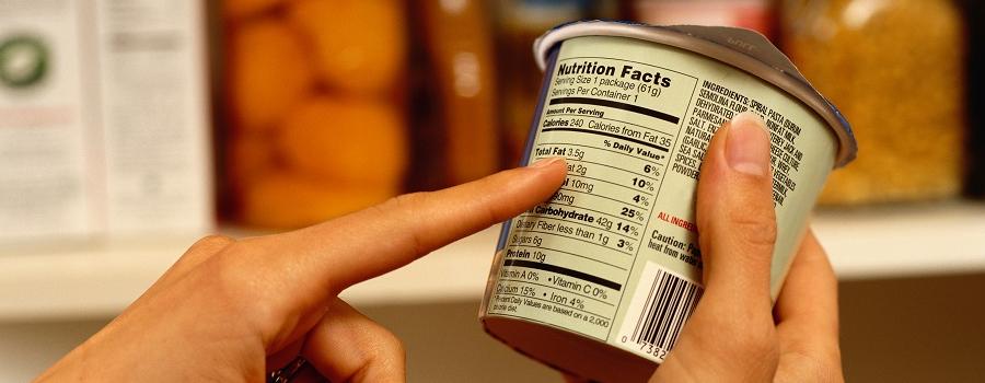 ¿Cómo interpretar las etiquetas de los alimentos?