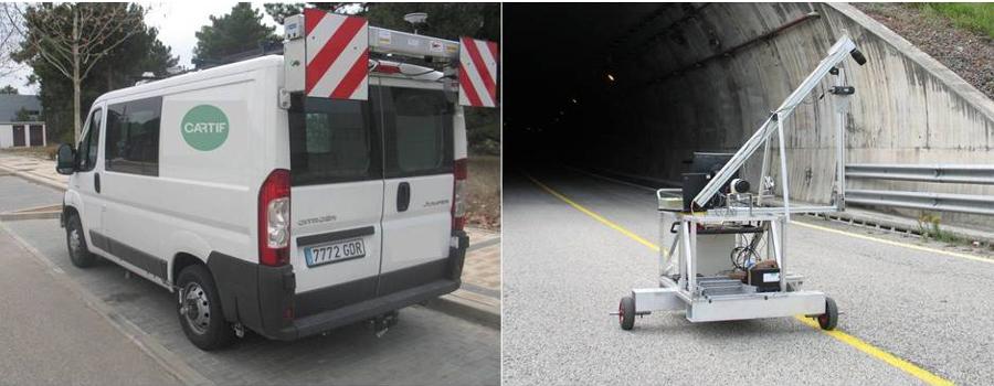 Inspección visual automática de infraestructuras viarias