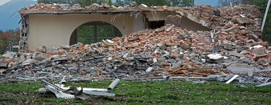Los escombros: la gestión de RCDs en el mundo